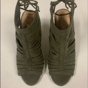 Brash Strappy Heels